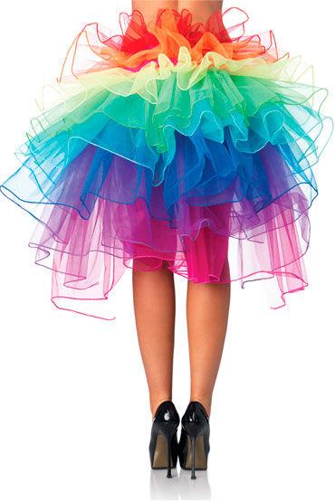 Leg Avenue юбка Многоуровневая, из органзы