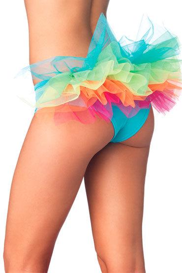 Leg Avenue трусики С разноцветной юбочкой