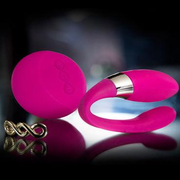 Lelo Tiani 2, розовый Мультискоростной вибратор для пар с дистанционным управлением