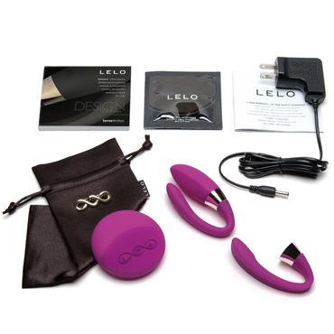 Lelo Tiani 2, фиолетовый Мультискоростной вибратор для пар с дистанционным управлением