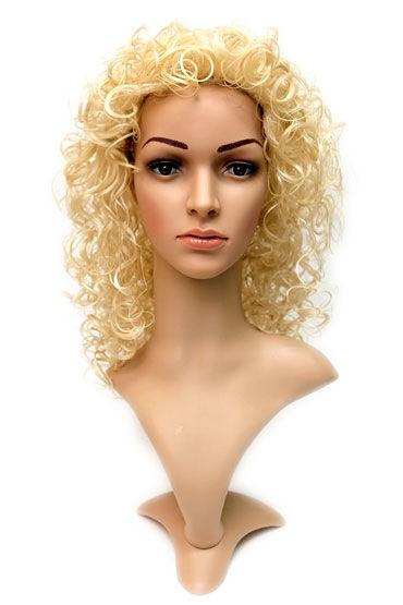Daniella Wig, стандартный блонд Длинные кучерявые волосы