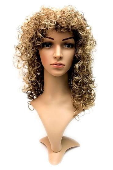 Daniella Wig, молочный шоколад Длинные кучерявые волосы
