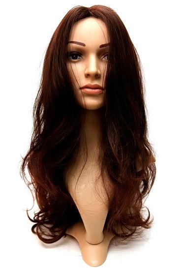 Violette Wig, шоколадный Длинные волосы без челки