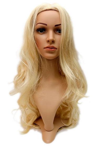 Violette Wig, стандартный блонд Длинные волосы без челки