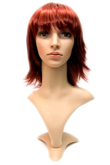 Steph Wig, темный медный Волосы средней длины