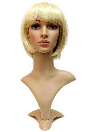 Gaga, стандартный блонд Стрижка каре с челкой