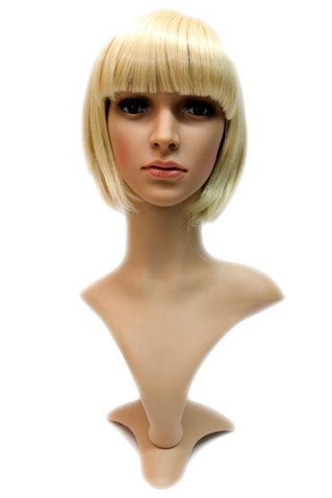 Gaga, золотистый блонд Стрижка каре с челкой