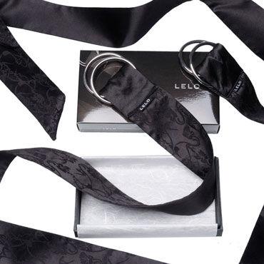 Lelo Boa, черный Шелковые ленты для чувственных наслаждений