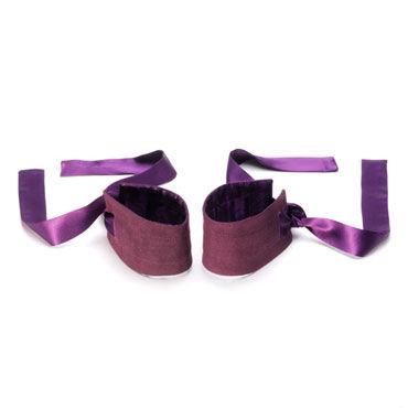 Lelo Etherea, фиолетовый Роскошные шелковые наручники