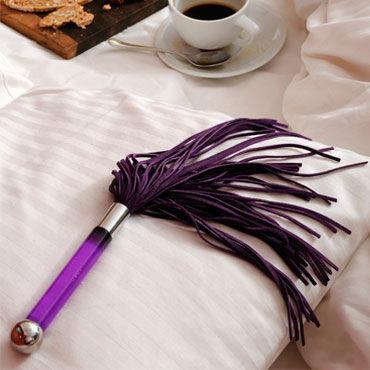 Lelo Sensua, фиолетовый Замшевая плеть для страстных игр