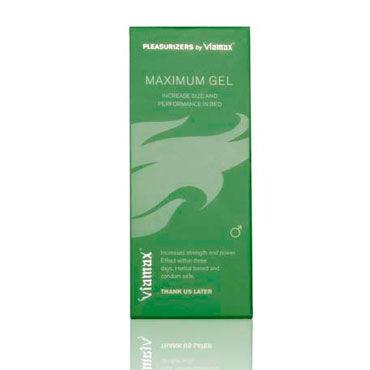 Viamax Maximum Gel, 50 мл Натуральный гель, усиливающий эрекцию