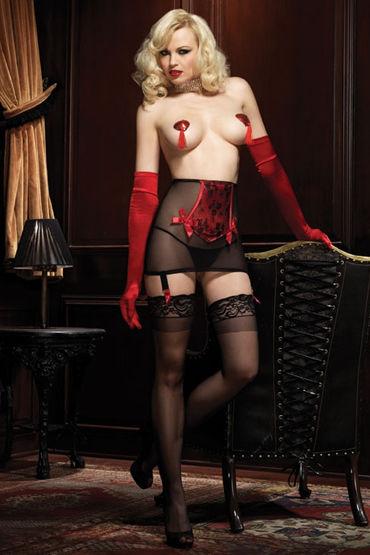 Leg Avenue Femme Fatale Set Шикарный пояс-корсет и стринги