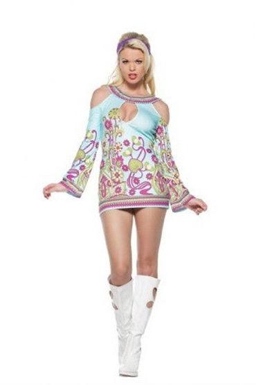 Leg Avenue GROOVY Платье с лентой на голову