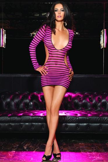 Leg Avenue мини-платье, С открытой спиной - Размер Универсальный (XS-L)