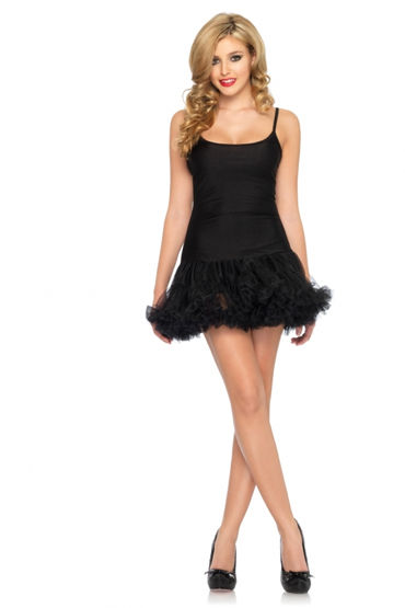 Leg Avenue платье, красное С пышной юбочкой
