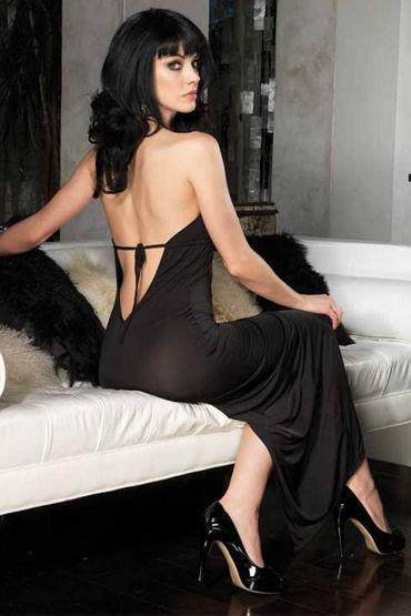 Leg Avenue платье С глубоким декольте и высоким разрезом