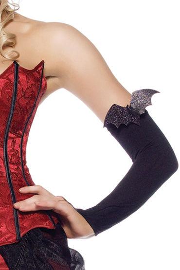 Leg Avenue перчатки С аппликацией в виде летучей мыши