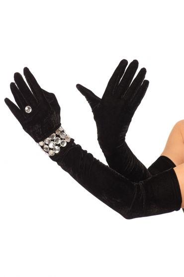 Leg Avenue перчатки С браслетом и колечком