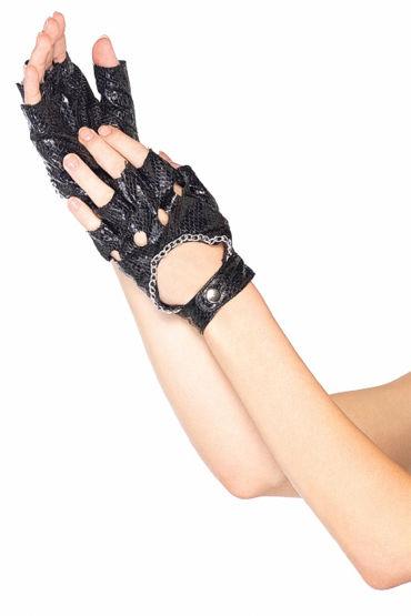 Leg Avenue перчатки Из искусственной змеиной кожи