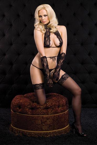 Leg Avenue комплект Сексуальное кружевное белье