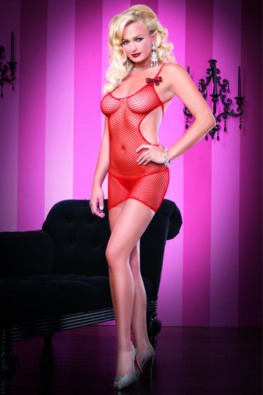 Leg Avenue платье, С открытой спиной - Размер Универсальный (XS-L)