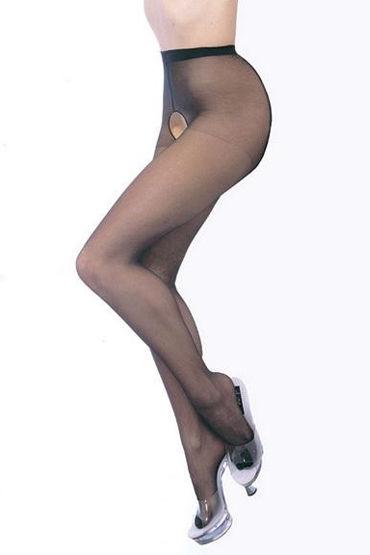 Leg Avenue колготки, С эротичным вырезом - Размер Универсальный (XS-L)