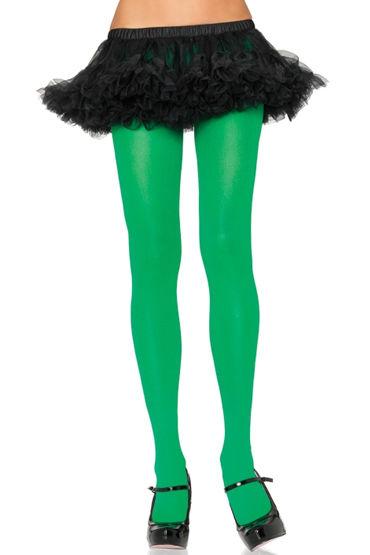 Leg Avenue колготки, зеленые Плотные, непрозрачные