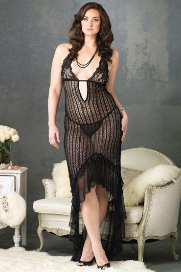 Leg Avenue платье Из вязаного кружева
