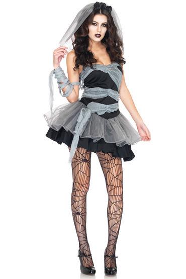 Leg Avenue Мертвая невеста Платье с пышной юбочкой и фата