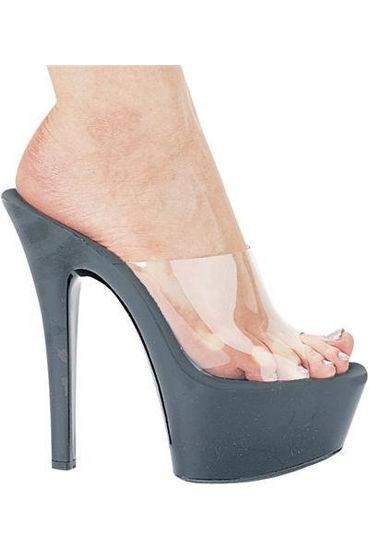 Ellie Shoes Vanity Босоножки-сабо на каблуке 15 см