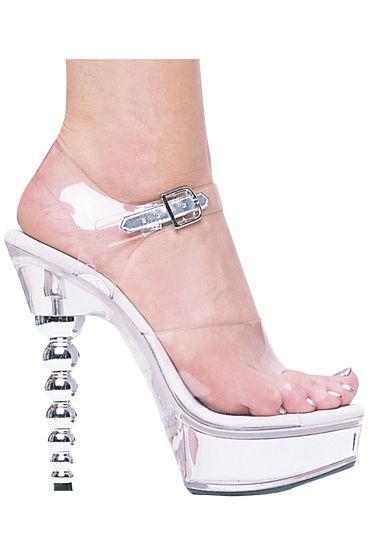 Ellie Shoes Brook Босоножки с оригинальным каблуком 15 см