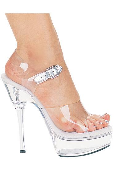 Ellie Shoes Brook Босоножки на металлической шпильке 15,24 см