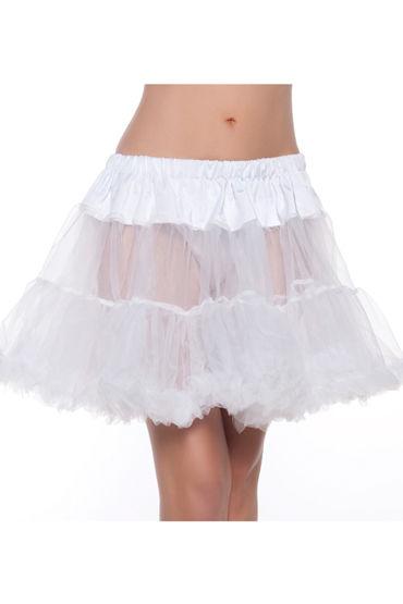 Bewicked Annie Petticoat, белый Полупрозрачный подъюбник