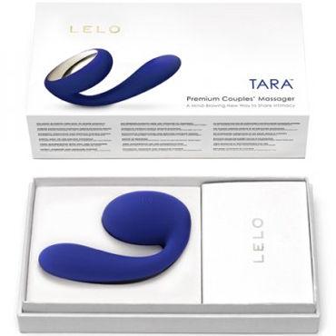 Lelo Tara, синий Первый в мире вибромассажер для пар с ротацией