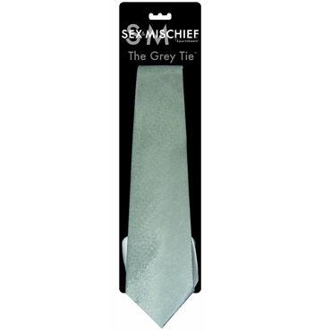 Sex & Mischief The Grey Tie Галстук в стиле ''50 оттенков серого''