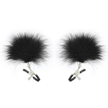 Sex & Mischief Feathered Nipple Clamps, ������ ��� ������