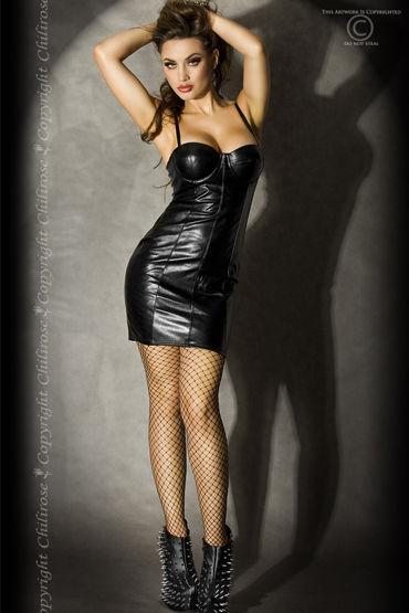 ChiliRose Gothic Lady, Эротичное мини-платье - Размер M