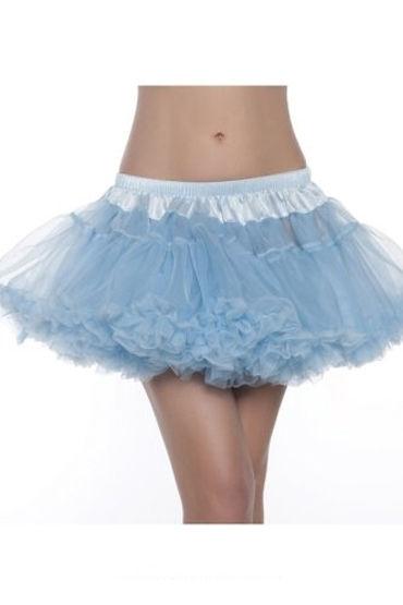 Bewicked юбка, голубая, Пышная двухслойная - Размер Универсальный (XS-L) от condom-shop.ru