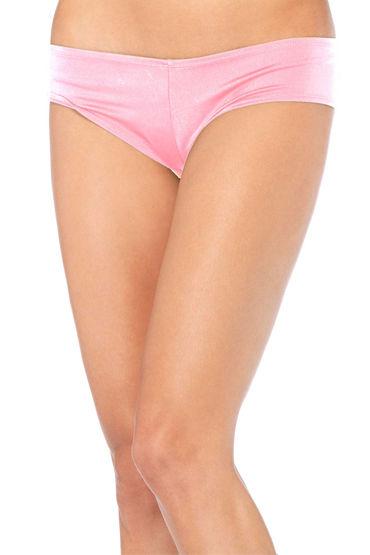 Leg Avenue трусики, розовые, Удобные лайкровые - Размер S-M