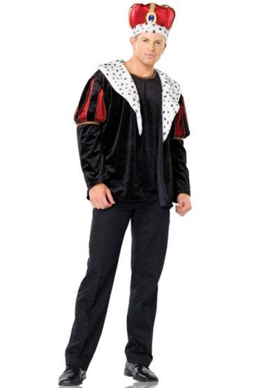 Leg Avenue Великолепный Император Куртка, рубашка и корона
