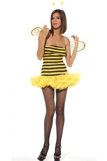 Leg Avenue Пчелка Сексуальное платье с крылышками и рожки