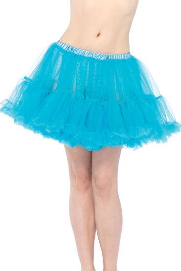 Leg Avenue подъюбник, голубой, Многослойный пышный - Размер Универсальный (XS-L) от condom-shop.ru