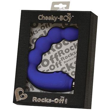 Rocks Off Cheeky Boy, синий Вибромассажер для простаты