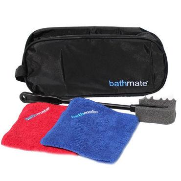 Bathmate набор для очистки помп Пластиковый скребок с салфеткой