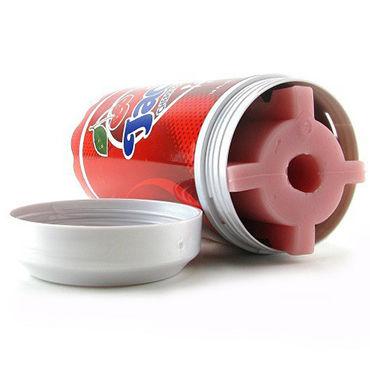 FleshLight Jacks Soda Cherry Pop Попка-мастурбатор в банке вишневой соды