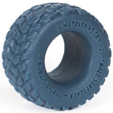 Keep Burning Boulder, синее Эрекционное кольцо оригинальной формы