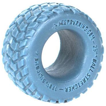 Keep Burning Boulder, голубое Эрекционное кольцо оригинальной формы