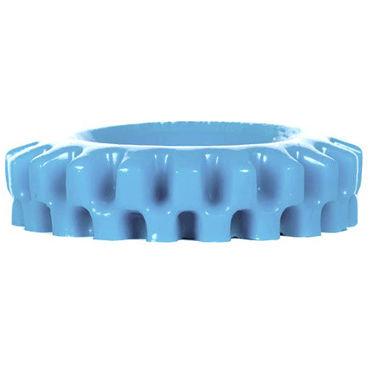Keep Burning Pick Up Nutt, голубое Эрекционное кольцо оригинальной формы