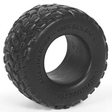 Keep Burning Boulder, черное Эрекционное кольцо оригинальной формы