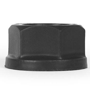 Keep Burning Lock Nutt, черное Эрекционное кольцо оригинальной формы